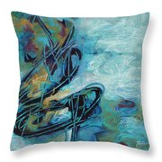 Hither And Thither Throw Pillow