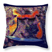 Hive Mind Sails To Improbable Realms Throw Pillow