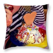Hmmmm Delicious Throw Pillow