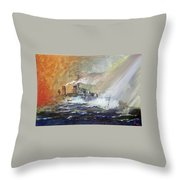 Hms Duncan Throw Pillow