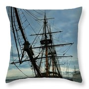 Hms Surprise Throw Pillow