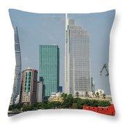 Ho Chi Minh City 1 Throw Pillow