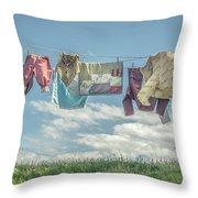 Hobbit Clothes Throw Pillow