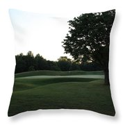 Hobbits Glen - 4th - Early Morning Beauty Throw Pillow