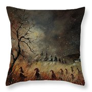 Hobglobins At Night Throw Pillow