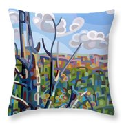 Hockley Valley Throw Pillow