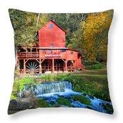 Hodgsons Mill  Throw Pillow