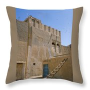 Hofuf Alley Throw Pillow