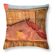 Hog Fish 02 Throw Pillow