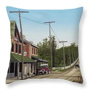 Hoggs Hollow Toronto 1920 Throw Pillow