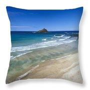 Hokuula Beach Throw Pillow
