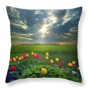 Hold Fast What Is Good Throw Pillow