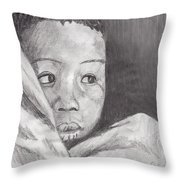 Hold Me Mom Throw Pillow