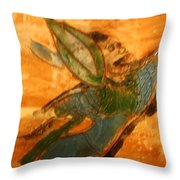 Hold On - Tile Throw Pillow