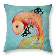 Hold The Roe Throw Pillow