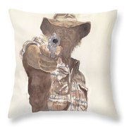 Hold Up Throw Pillow