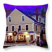 Holderness General Store Throw Pillow