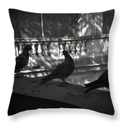 Holding Court Throw Pillow