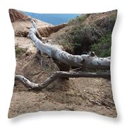 Holding Firm Throw Pillow