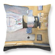 Holding On To An Idea Throw Pillow