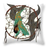 Holding On To The Dream Throw Pillow