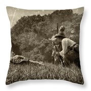 Holding The Line Throw Pillow
