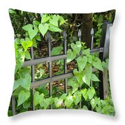 Holding To The Vine Throw Pillow