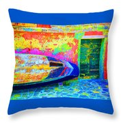 Hole In The Boat Throw Pillow