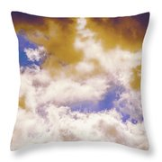 Hole In The Cloud Throw Pillow