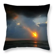 Hole In The Gulf Throw Pillow