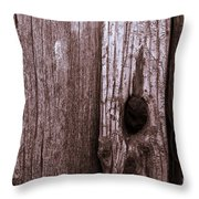Hole In The Wall. Throw Pillow