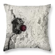 Coke In The Wall Throw Pillow