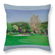 Hole12 Ohlone Ridge Throw Pillow