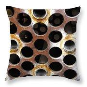 Holes Throw Pillow