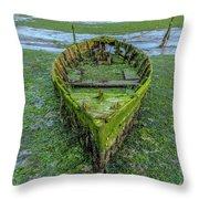 Holes Bay - England Throw Pillow