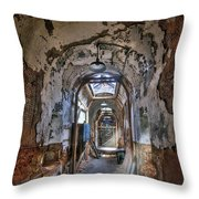 Holes In The Walls Throw Pillow