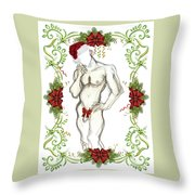 Holiday Angel II - Holiday Cards Throw Pillow