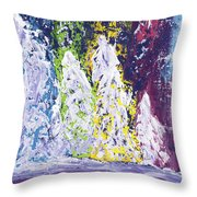 Holiday Blanket Throw Pillow