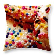Holiday Cookies Throw Pillow