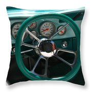 Holiday Drive Throw Pillow