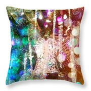 Holiday Fantasy Throw Pillow