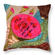 Holiday Ham Throw Pillow