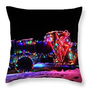 Holiday Harvester #9382 Throw Pillow