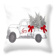 Holiday Joy Chesilhurst Farm Throw Pillow