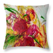 Holiday Love Throw Pillow