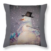 Holiday Magic Throw Pillow