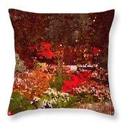 Holiday Mosaic Throw Pillow