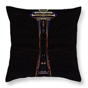 Holiday Needle 3 Throw Pillow