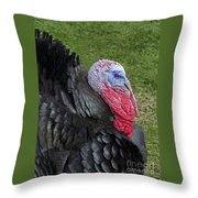 Holiday Portrait Throw Pillow