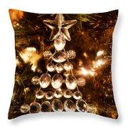 Holiday Shine 1 Throw Pillow